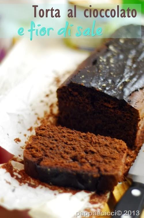torta cioccolato e fior di sale