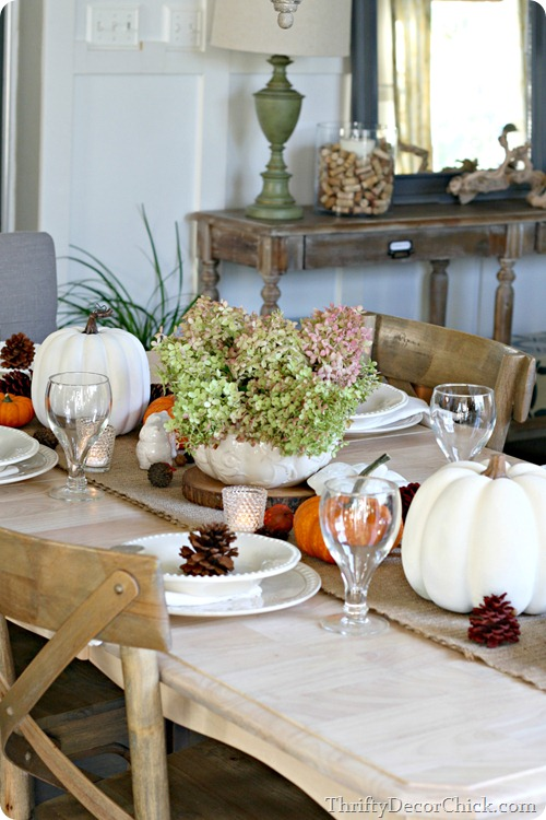 easy fall table setting ideas