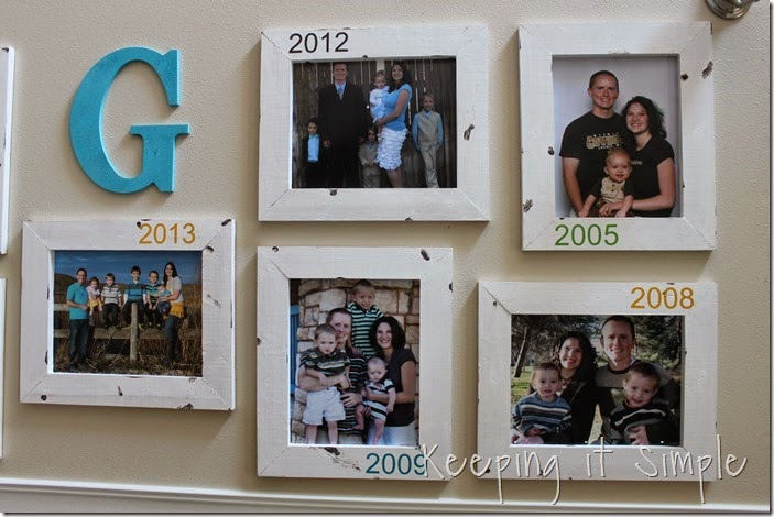 DIY Gallery Wall With Old Family Pictures (19)