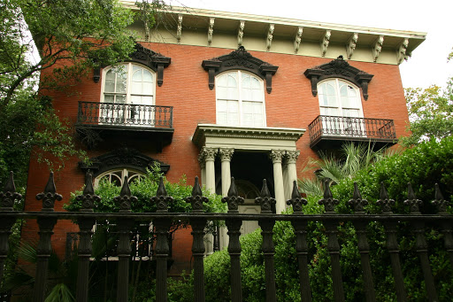 Mercer/Williams house - subject of the book/movie Midnight in the Garden of Good and Evil