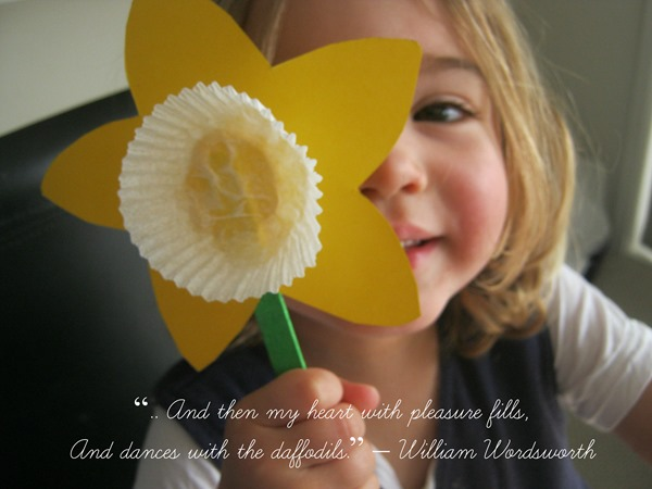 DIY Daffodils | Fun Easter Crafts For Kids To Do On The Homestead