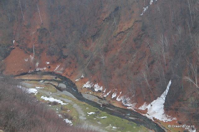 Cetatea Poenari valea Argesului
