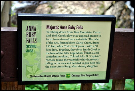 25f2 - Anna Ruby Falls Trail - sign