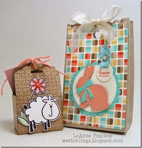 LeAnne Pugliese WeeInklings Easter Treat Bags Stampin