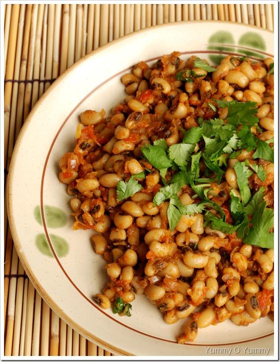 Black-eyed bean Curry