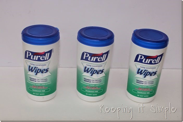 #ad Individual-Kids-Clean-Up-Buckets #PurellWipes (1)