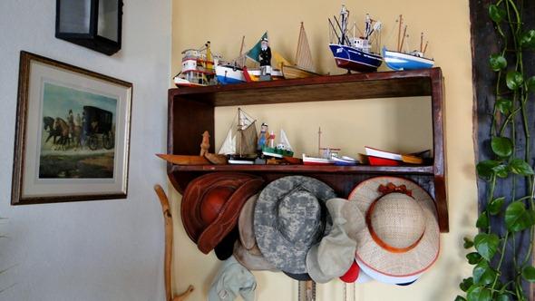Coleção de barcos e chapúes do José - Solar dos Montes