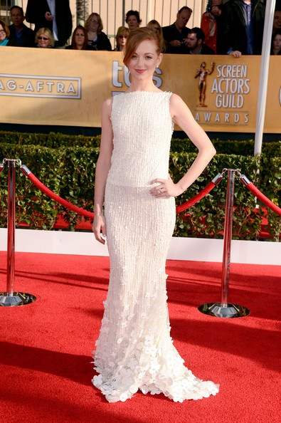 Jayma Mays arrives at the 19th Annual Screen Actors Guild Awards