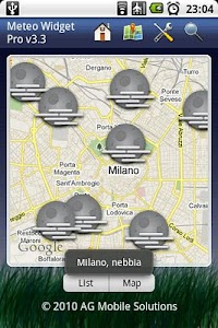 Meteo Widget Pro screenshot 1