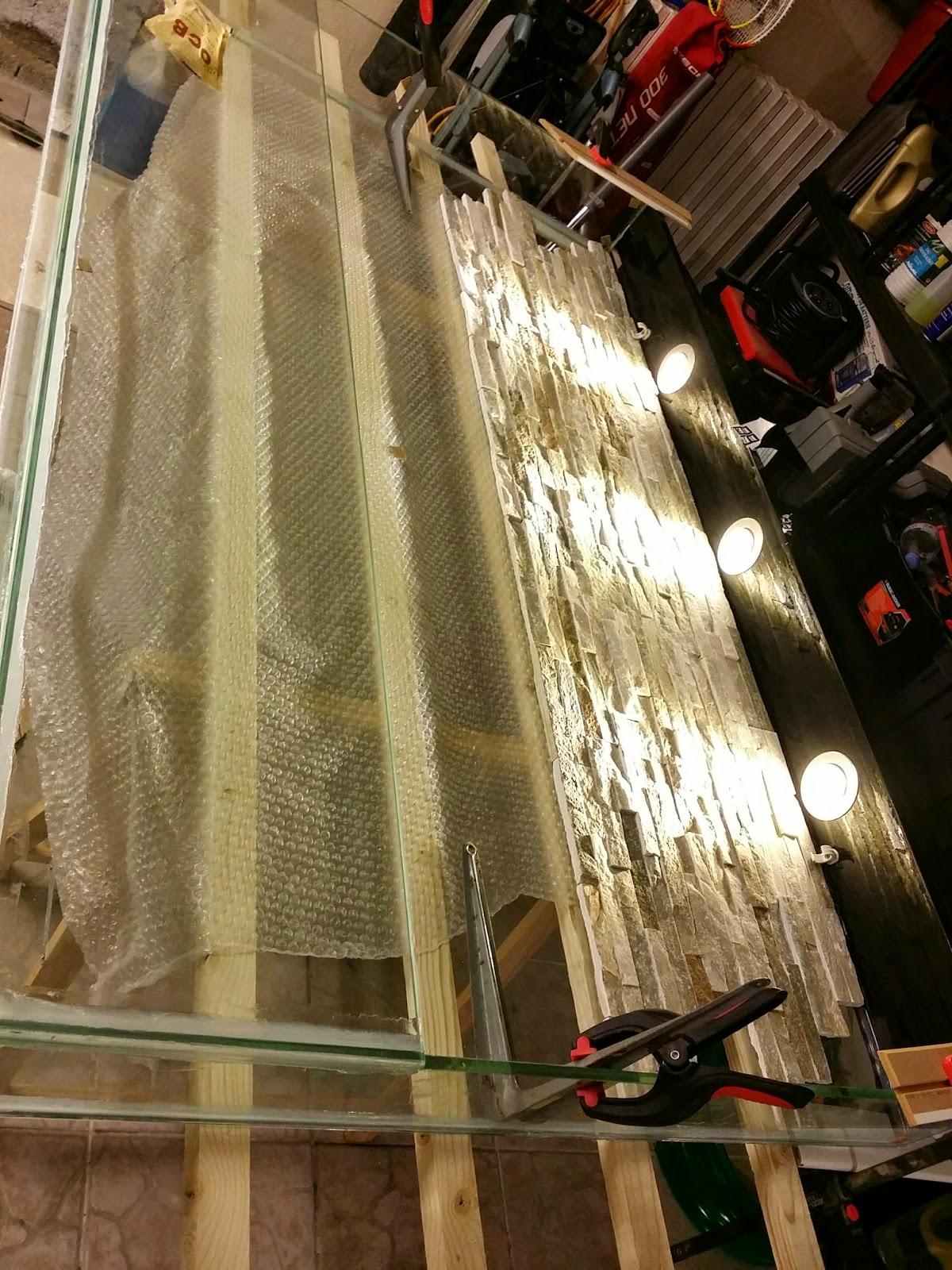 Tutoriel Fabrication Aquarium Mural Jour 4 Le Fond