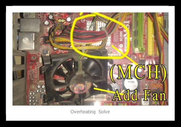 Memory Controller Hub overheating