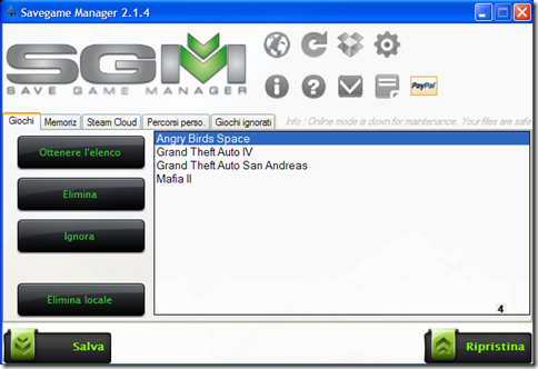 Savegame Manager