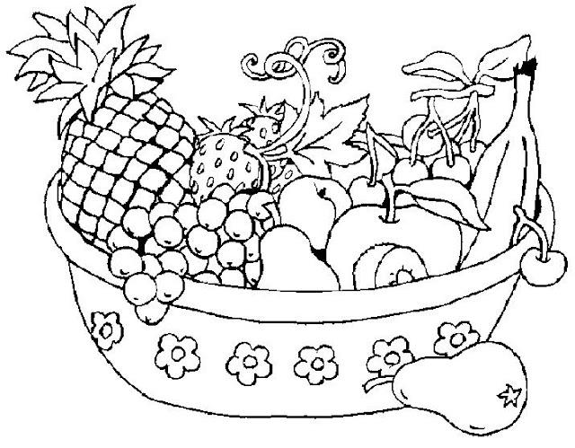 Dibujos De Frutas