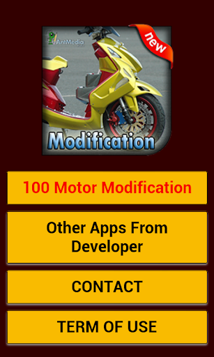 100 Modifikasi Motor