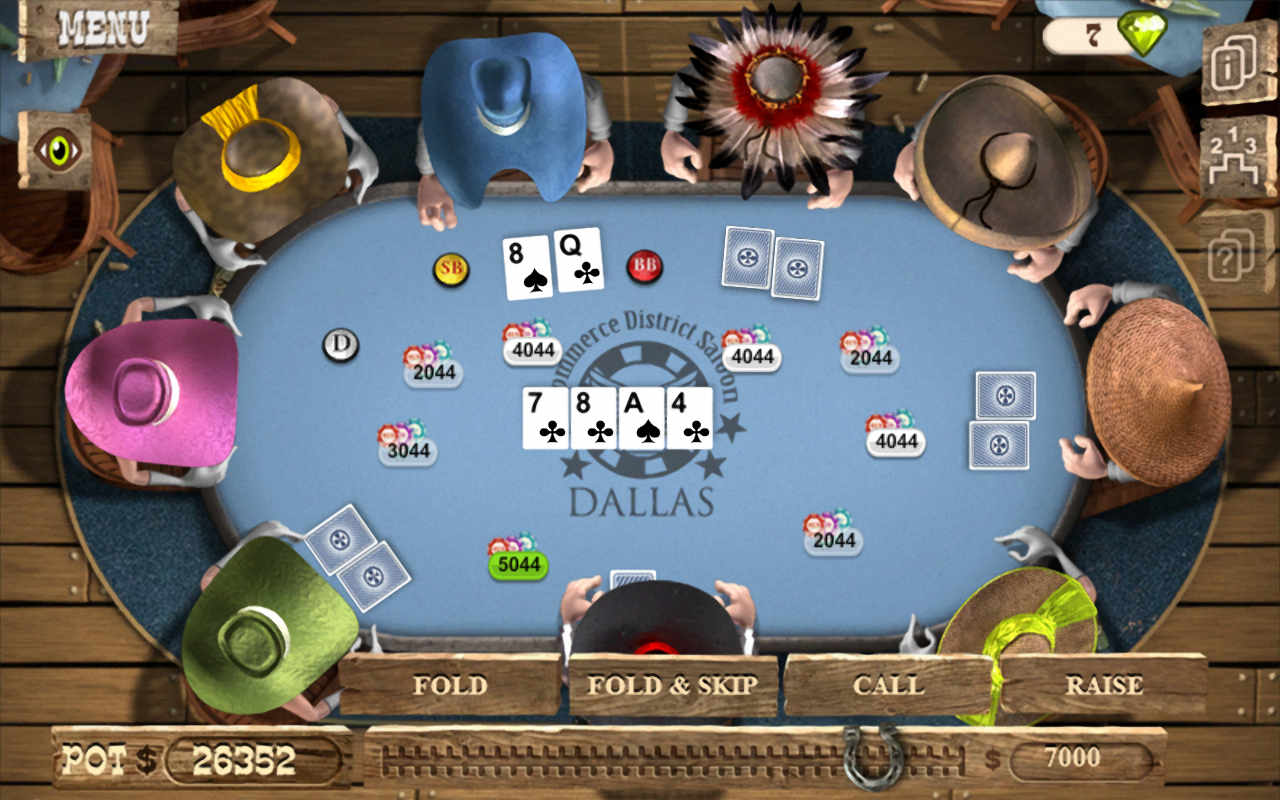 Screenshots of Governor of Poker 2 - OFFLINE for iPhone