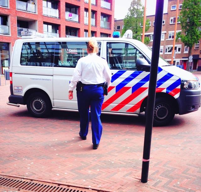 scheidam police car