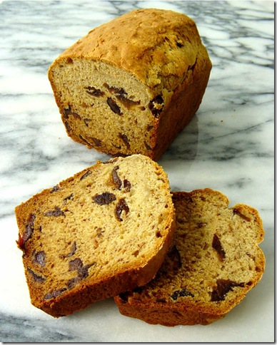 Low-Fat Banana and Prune Loaf Cake