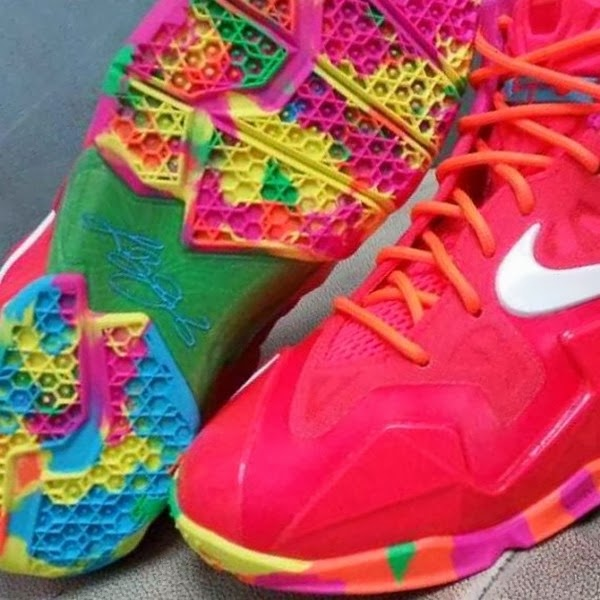 8382f99938d official lebron 12 fruity pebbles white knight fdf09 5d9ce