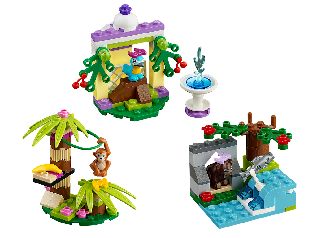 Lego Friends Animals Instructions