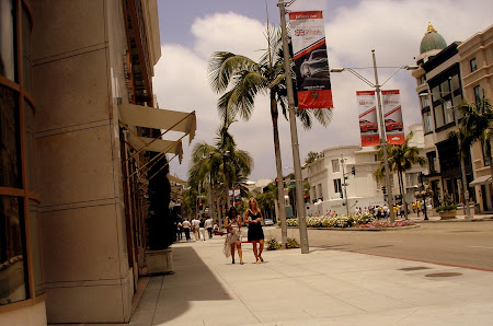 Obiective turistice Los Angeles: O parte mai europeana - Rodeo Drive