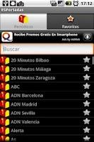 Screenshot of ESPortadas