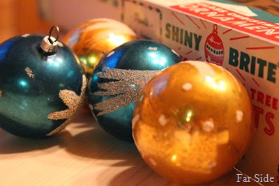 West German Ornaments
