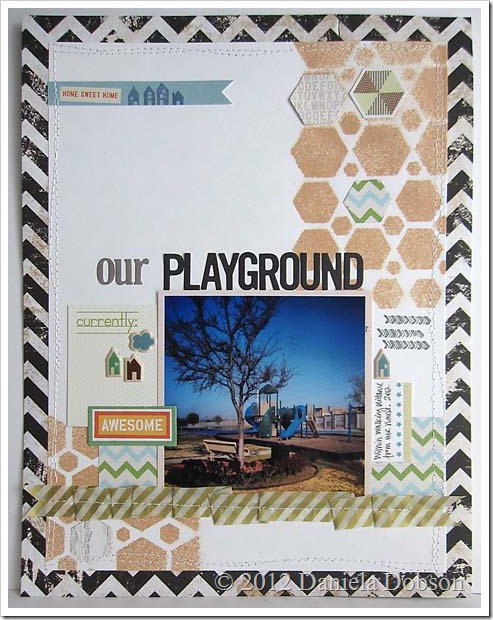 Our playground by Daniela Dobson