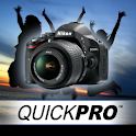 Nikon D5100 by QuickPro logo
