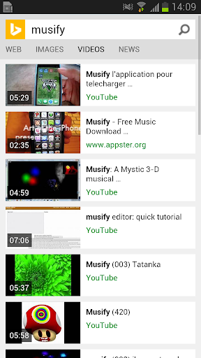 The Musify Videos