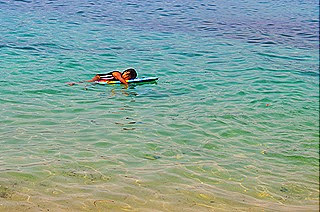 The Mermaid taking a nap @ Potipot Island_af