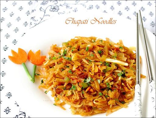 Chapathi-noodles