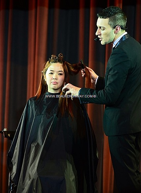 AVEDA CATWALKS FOR WATER SPRING SUMMER 2013 KEY HAIR COLOURS botanically based high performance hair care beauty products hair style perm wave natural look style japanese london runway fashion milan Collection IAN MICHAEL BLACK,