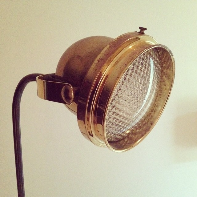 thriftscorethursday design_it_vintage brass lamp