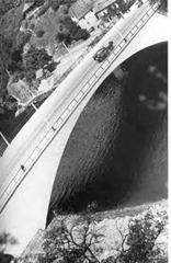 Hans Finsler - Le pont de Halle - vers 1929