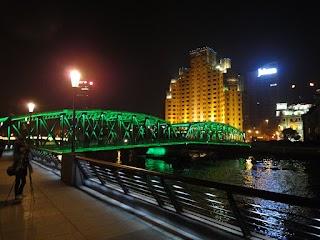 Pont Waibaidu à Shanghai
