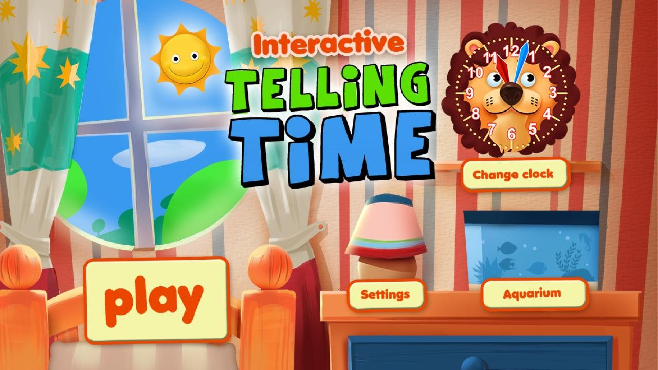 Interactive Telling Time Free - screenshot