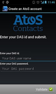 Atos Contacts LDAP - screenshot thumbnail