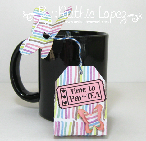 Inky Impressions - Tea Party - Ruthie Lopez - My Hobby My Art 2