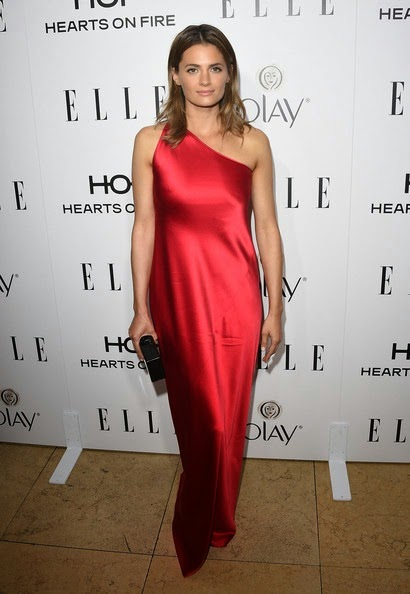 Stana Katic attends ELLE's Annual Women in Television Celebration
