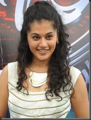 Actress Taapsee Stills at Vasul Raja Movie Launch