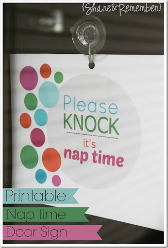graphic regarding Please Knock Sign Printable identify Remember to knockits nap period Printable Signal