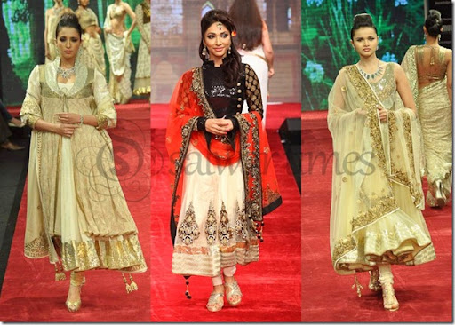 The gallery for --> Anarkali Collection By Vikram Phadnis