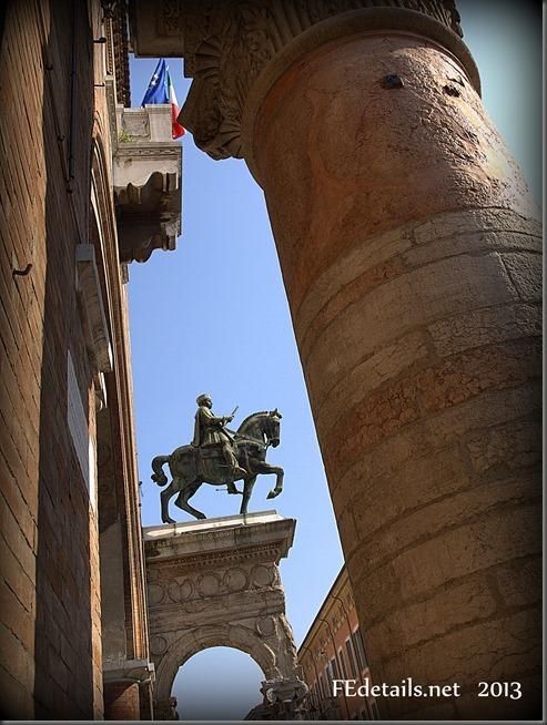 Borso e Nicolò III d'Este , Ferrara, Italy, photo2