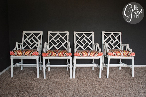 wicker chinese chippendale chairs 3