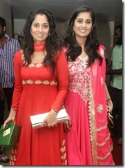 Shalini Ajith, Shamili at GV Prakash Kumar & Saindhavi Wedding Reception Photos