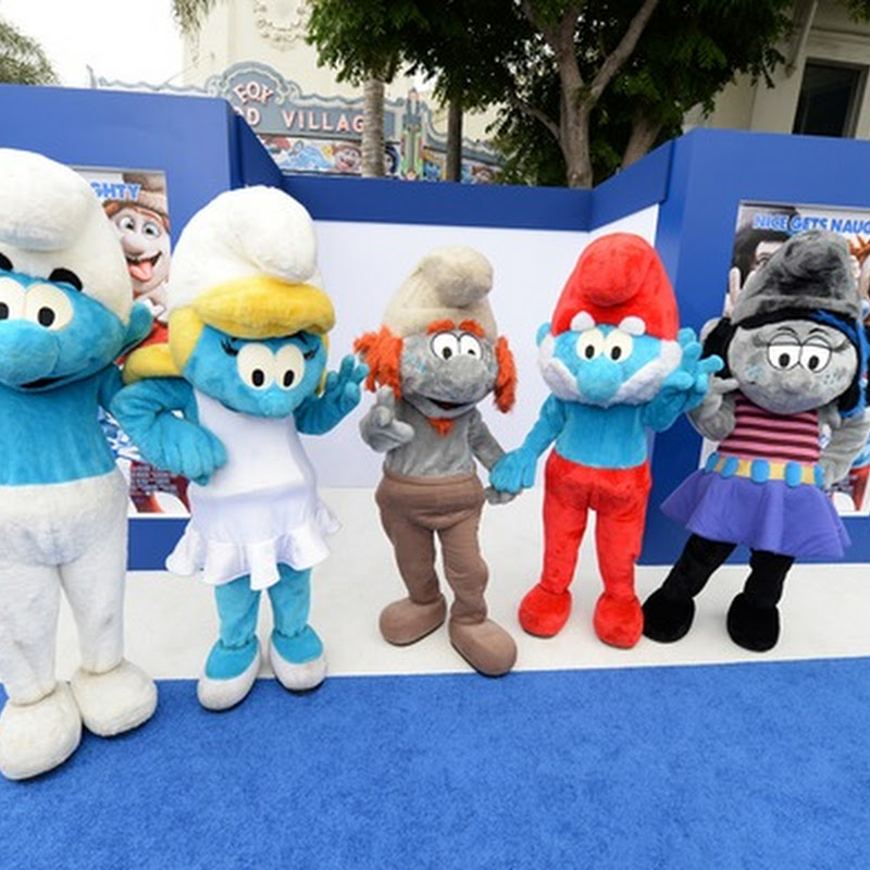 "Stars of ""Smurfs 2"" Invade `Blue' Carpet Premiere (Opens Aug 07)"