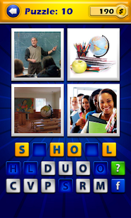 4 Pics 1 Word - Guess the word - screenshot thumbnail