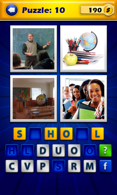 4 Pics 1 Word - Guess the word - screenshot