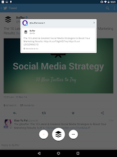 Buffer: Social Media, Twitter - screenshot thumbnail