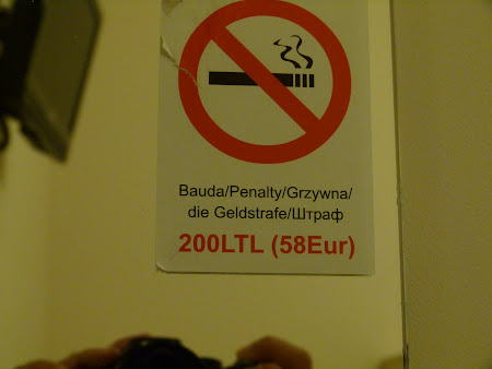 Cazare Lituania: hotel Gile Vilnius interzis fumatul